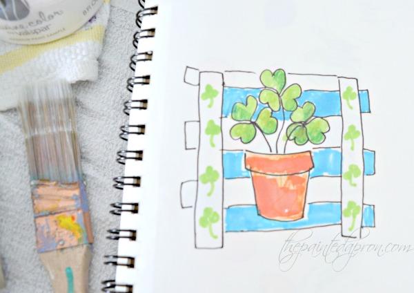 shamrock-pot-sketch