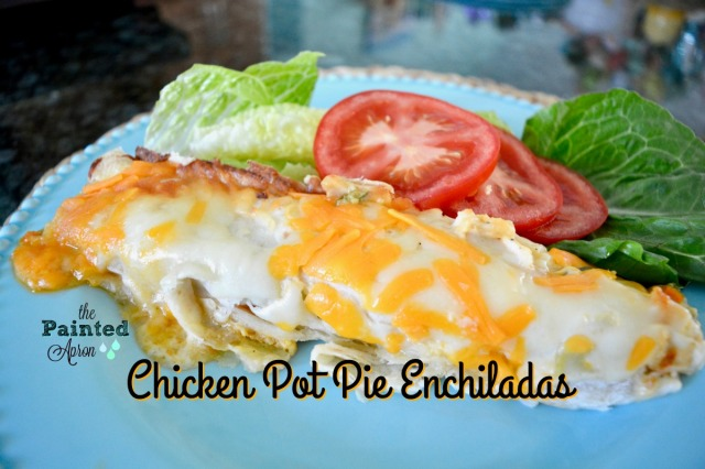 chicken pot pie enchiladas 1
