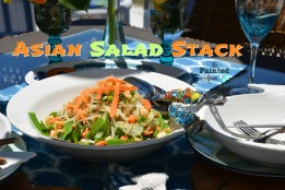 Asian Salad Stack