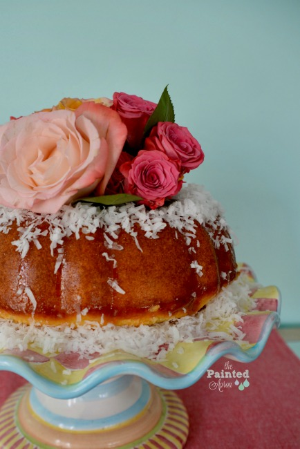 Mother's Day coconut cake