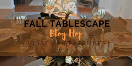 Fall Tablescape Blog Hop 2017