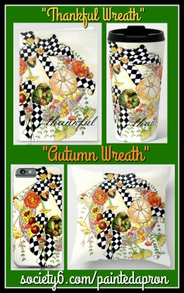 Autumn & Thankful Wreath S6