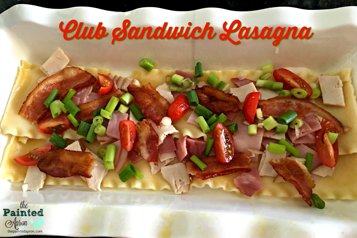 Club Sandwich Lasagna 2