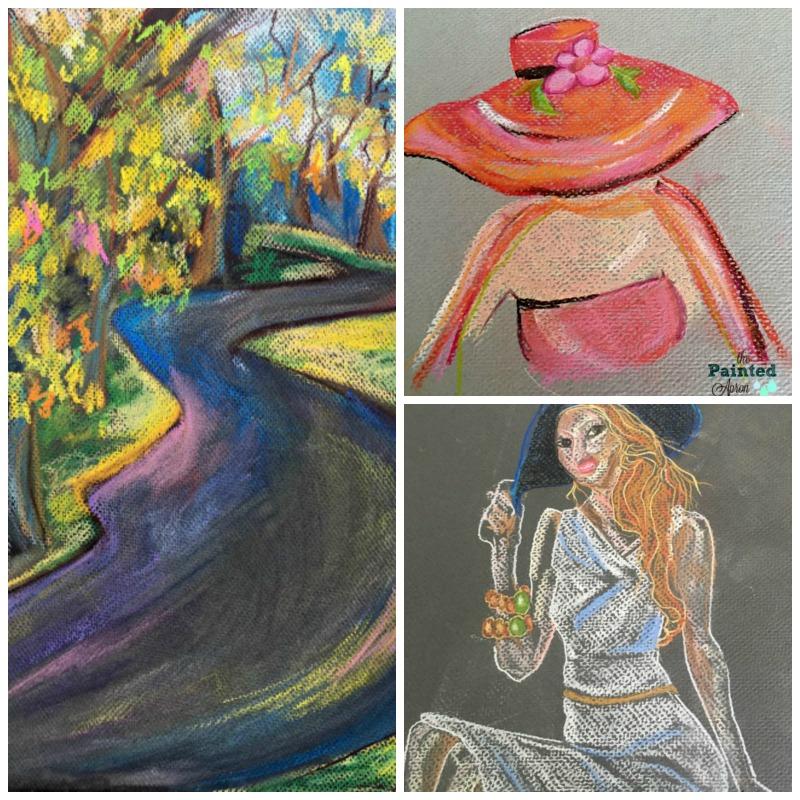Pastel Collage