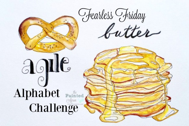 pretzel & pancakes alphabet challenge