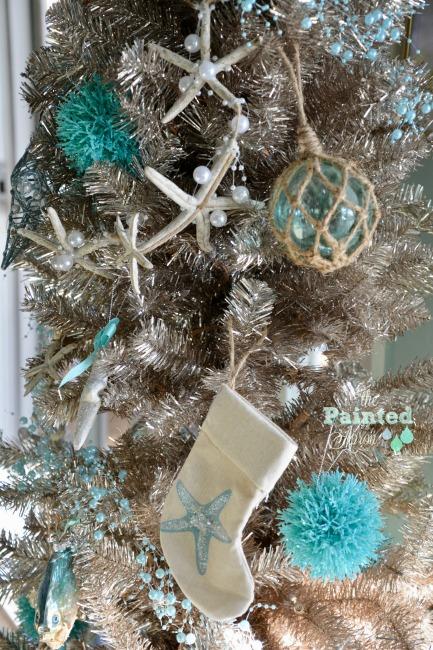 coastal christmas tree details - Coastal Christmas Tree