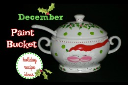 December paint bucket