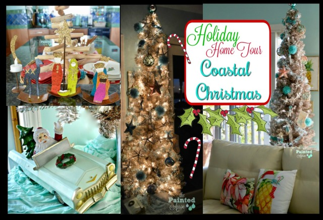 Home tour Coastal Christmas