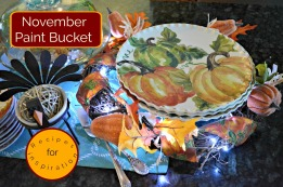 Nov paint bucket