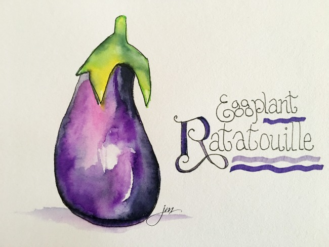 R is for ratatouille