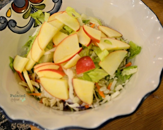 coleslaw with apples and cranberries
