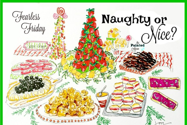 naughty or nice buffet