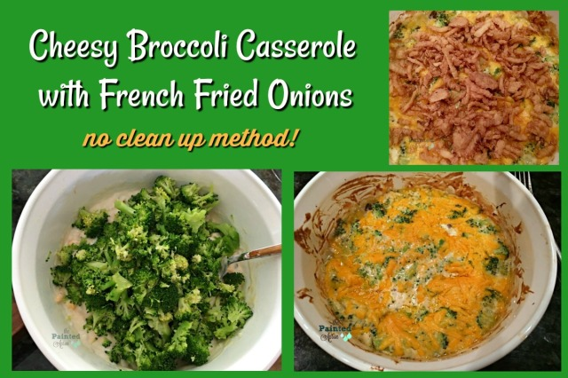 Broccoli Casserole with French Fried Onions
