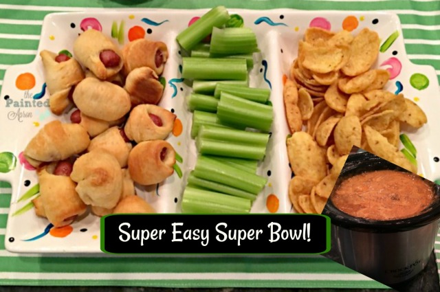 Super Bowl appetizer tray