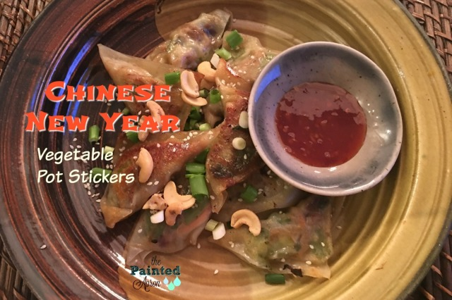 Chinese New Year Vegetable Pot Stickers