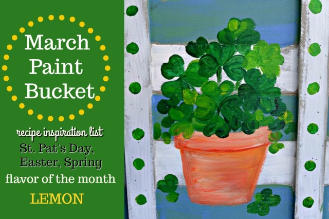 March Paint Bucket