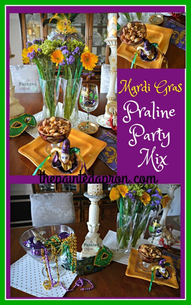 Mardi Gras Fun collage