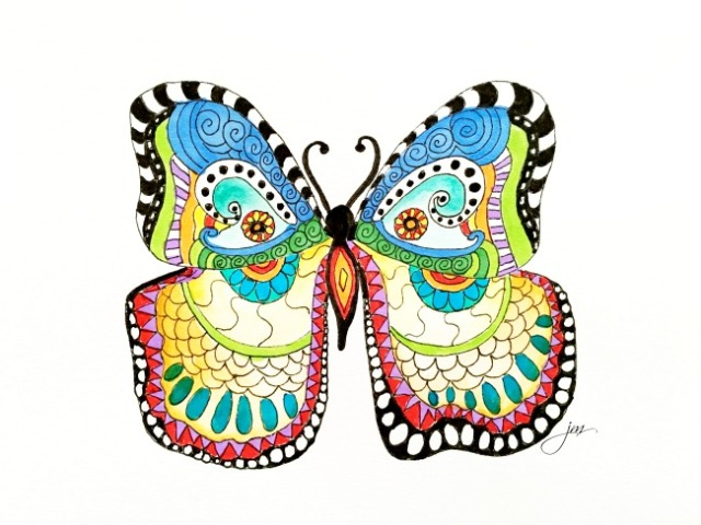 fanciful butterfly