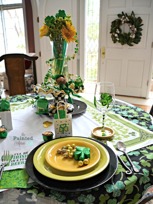 Lucky table for St. Pat's