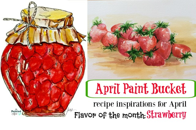 April strawberries
