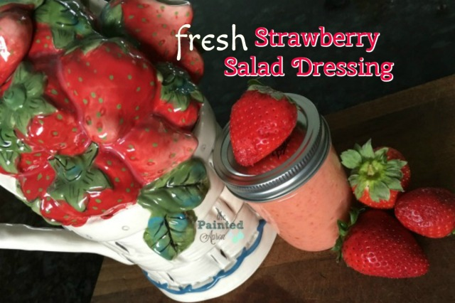 easy fresh strawberry salad dressing