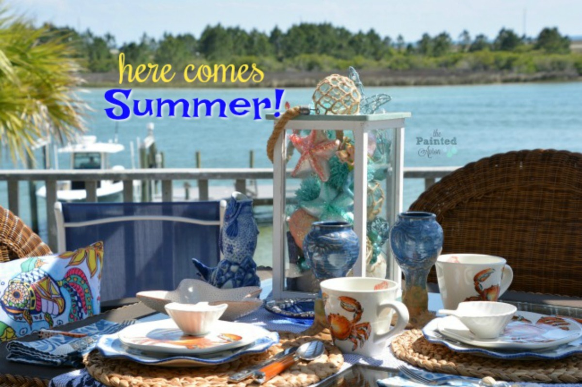 Tablescapes, Here Comes Summer!