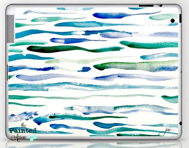 Tranquil Sea lap top skin