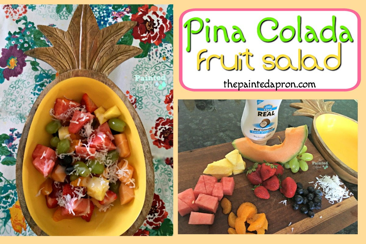 Pina Colada Fruit Salad 1