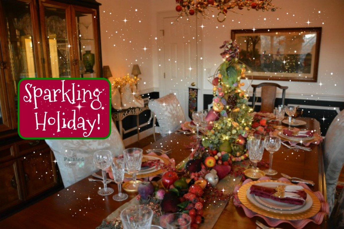 Tablescapes, Sparkling Holiday
