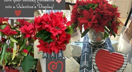 flower arrangement   The Painted Apron