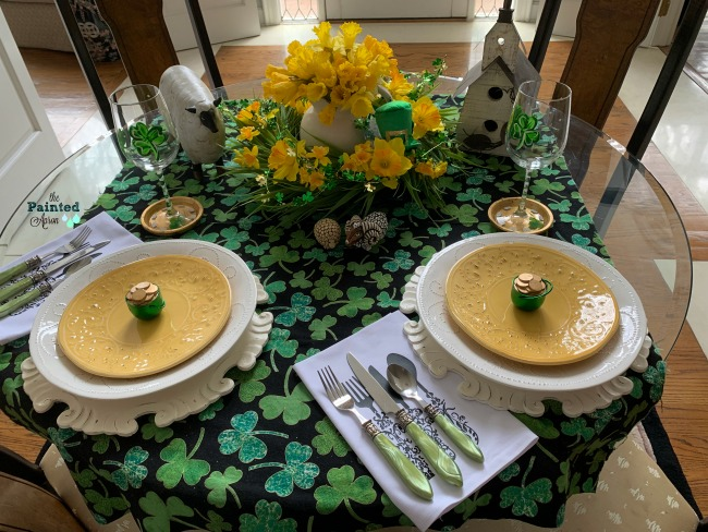 TABLESCAPES, IRISH SPRING
