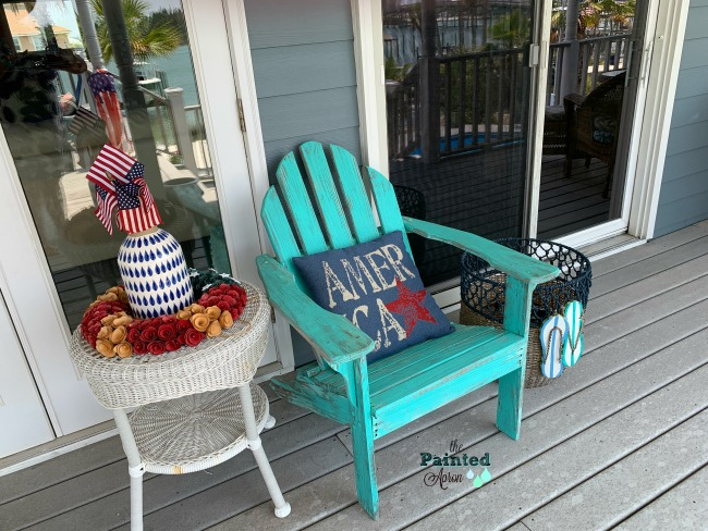 Stupendous Red White Blue Decor The Painted Apron Pdpeps Interior Chair Design Pdpepsorg